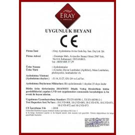 Eray Aydınlatma 1101-10-04  Modern Avize